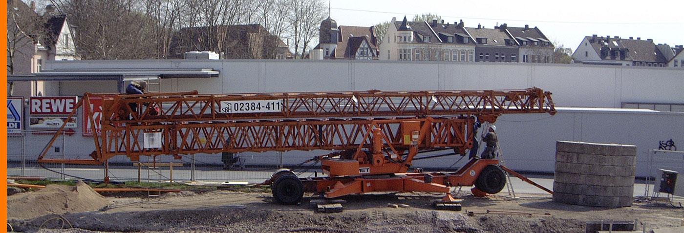 Scheidinger Baumaschinen Handel - Service